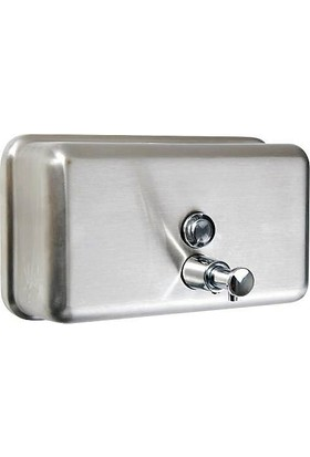 Arı Metal Sıvı Sabun Aparatı Yatay 304 Paslanmaz Kalite