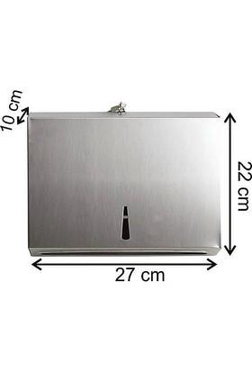 Arı Metal Z Katlama Kağıt Havluluk 200'lü Paslanmaz Çelik