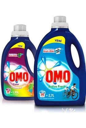 Omo Active Fresh 2700 ml + Omo Color 1350 ml