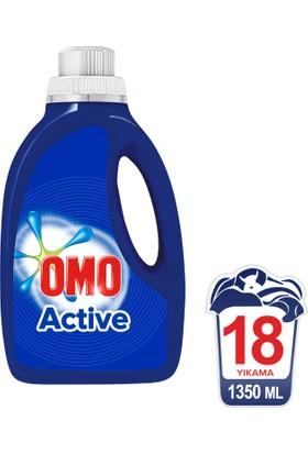 Omo Sıvı Çamaşır Deterjanı Actıve 1350 ML