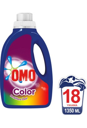 Omo Sıvı Çamaşır Deterjanı Color 1350 ML