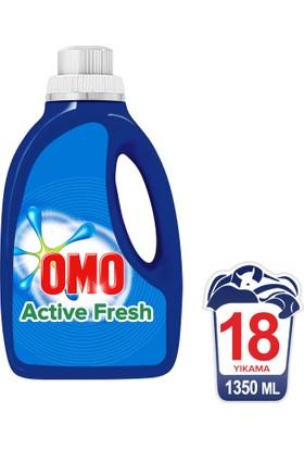 Omo Sıvı Çamaşır Deterjanı Actıve Fresh 1350 ML