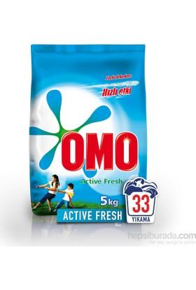 Omo Matik Toz Deterjan Active Fresh 5 kg 33 Yıkama