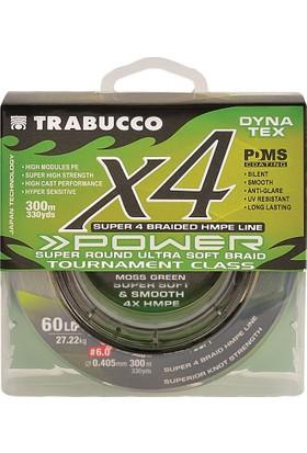 Trabucco Dyna Tex X4 Pro UV Lime Yellow 300m İp Misina