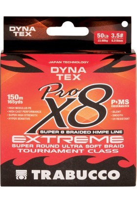 Trabucco Dyna Tex X8 Pro Extreme 300m İp Misina