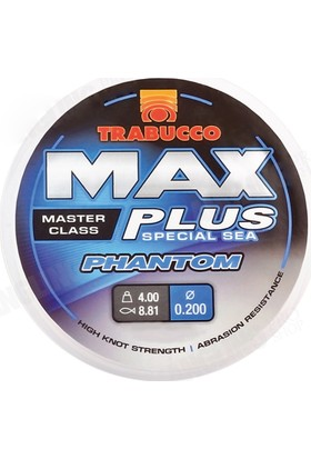 Trabucco Max Plus Phantom 300m Monoflament Misina