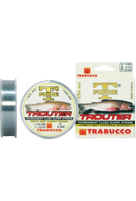 Trabucco T-Force Trouter Serisi 150m Monofilament Misina