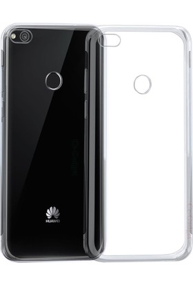 Case 4U Huawei P9 Lite 2017 Kılıf Ultra İnce Silikon Şeffaf