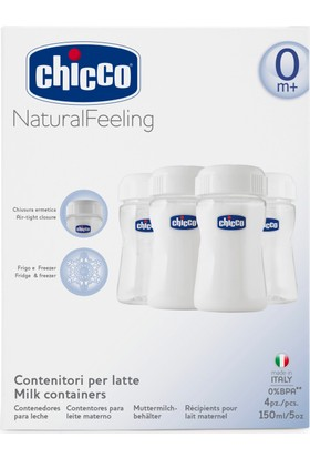 Chicco Süt Saklama Kapları-Wellbeing