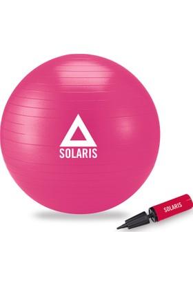 Solaris Dura-Strong Fuşya Deluxe Pilates Topu ( 65 cm Pilates Topu + Pompa )