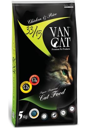 Vancat Erişkin Tavuklu&Pirinçli Kedi Maması 5kg