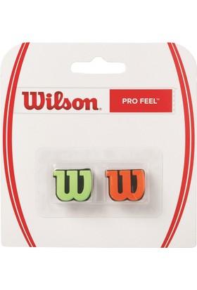 Wilson Tireşim Önleyici Tenis Aksesuarı Green/Orange (Wrz538700)