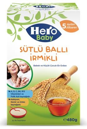 Hero Baby Sütlü Ballı İrmikli Kaşık Maması 480 gr