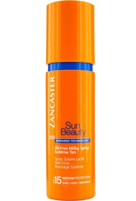 Lancaster Sun Beauty Oil Free Milky Spray Sublime Tan Spf 15 150 Ml