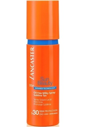 Lancaster Sun Beauty Oil Free Milky Spray Sublime Tan Spf 30 150 Ml