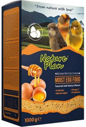 Nature Plan Moist Egg Food - Yumurtalı Islak Kanarya Maması 1000 gr
