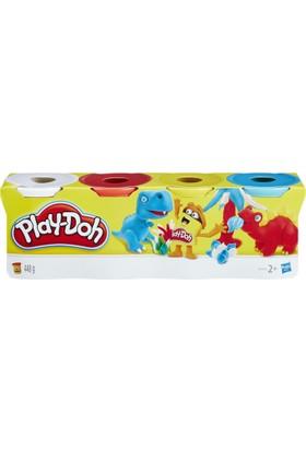 Play-Doh No 3 Hamur 4'lü
