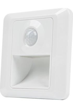Catca Ct 5170 1W Sensörlü Fotoselli Koridor Kasalı Gün Işığı
