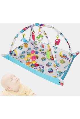 Hupim 100% Pamuk Bebek Oyun Halısı Ve Çocuk Oyun Alanı