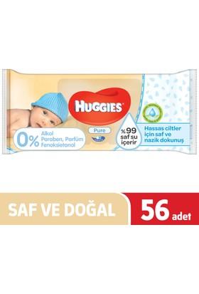 Huggies Islak Havlu (Saf ve Doğal) 56 Yaprak - Tekli Paket