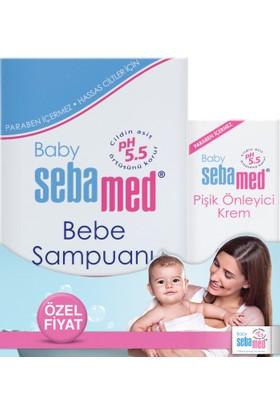Sebamed Bebe Şampuanı 250 ml + Pişik Kremi 50 ml Set