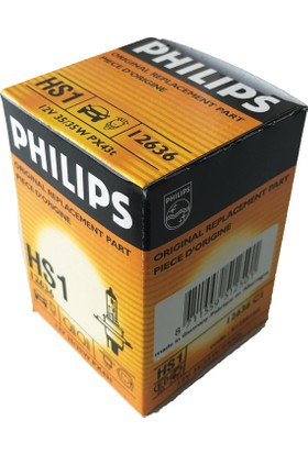 Philips H4 Hs1 12V 35/35W Tirnakli Far Ampulu