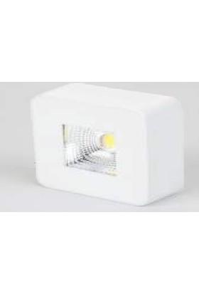 Cata Ct 5201 4W Damla Led Spot Armatür Sıva Üstü Beyaz