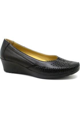 Esem 144 Kadın Deri Günlük Ayakkabı Siyah