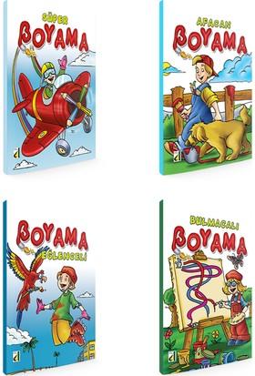 Süper Boyama Serisi (4 Kitap Takım)