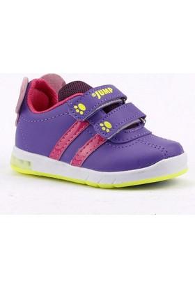 Jump 13605 Işıklı Cırtlı Bebe Kız Çocuk Spor Ayakkabı