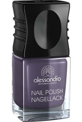 Alessandro Nail Polish Shiny Violet 10 Ml.