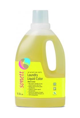 Sonett Nane Ve Limon Özlü Çamaşır Yıkama Sıvısı - Renkliler 1500 Ml.