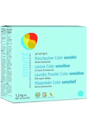 Sonett Hassas Ciltler İçin Çamaşır Yıkama Tozu - Renkliler 1200 Gr.