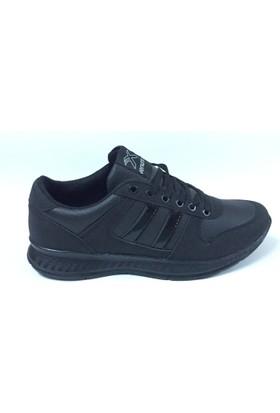 Venuma New Line Siyah Spor Ayakkabı