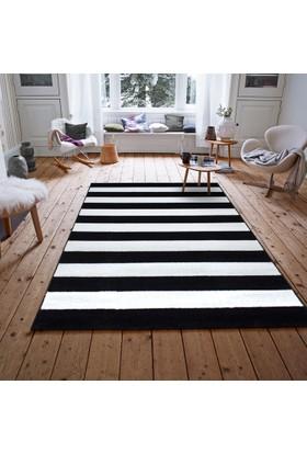 Payidar Roya Fb45 Siyah Beyaz Modern Halı
