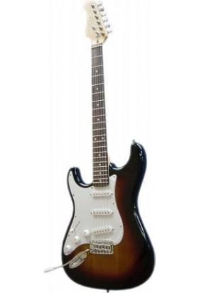 Gitar Elektro SOLAK XELH20SB Donizetti