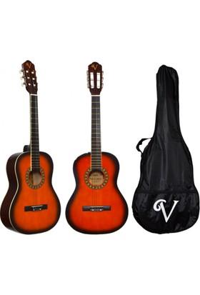Donizetti Victoria Klasik Gitar Seti Kılıf ve Pena Hediyeli 3/4 CG160SB