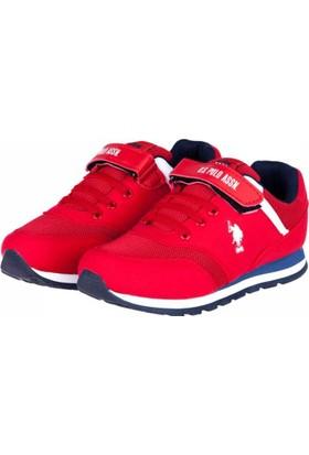 U.S. Polo Assn. Erkek Çocuk Spor Ayakkabı A17Fyuspl0003005
