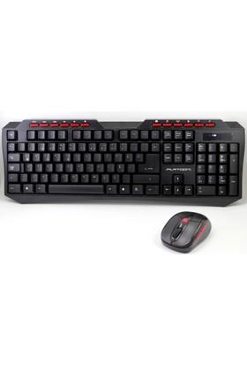Platoon Pl-370 2.4Ghz Wireless Kablosuz Klavye Mouse Set