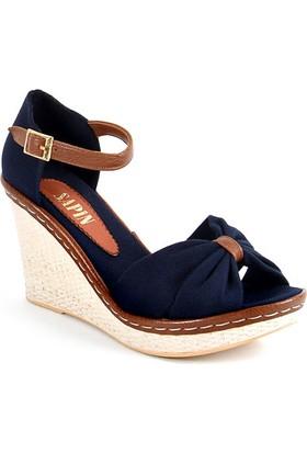 Sapin 25937 Kadın Sandalet Lacivert