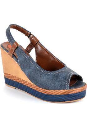 Sapin 35729 Kadın Sandalet Lacivert