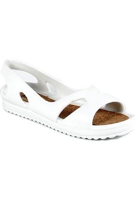 Sapin 35733 Kadın Sandalet Beyaz