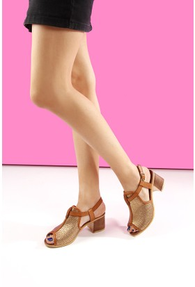 Gön Deri Kadın Sandalet 45817