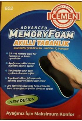 İcemen Ayağınızın Şeklini Alan Ortopedik Visco Tabanlık Erkek