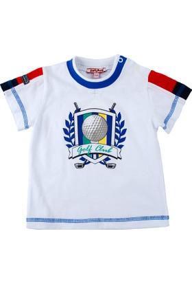 Zeyland Erkek Çocuk Beyaz T-Shirt K-Suf52