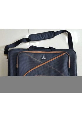 RITTER RAS7-PD-MGB Pedal Çantası Misty Grey-Leather Brown