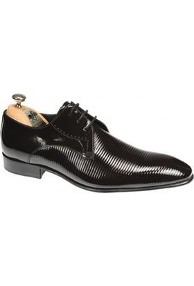 Paul Branco Bordo Rugan Ayakkabı