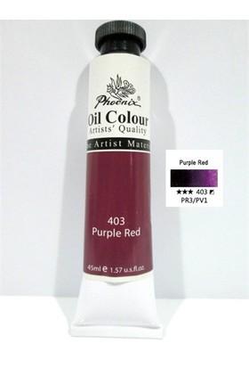 Phoenix 45 Ml Yağlı Boya 403 Purple Red