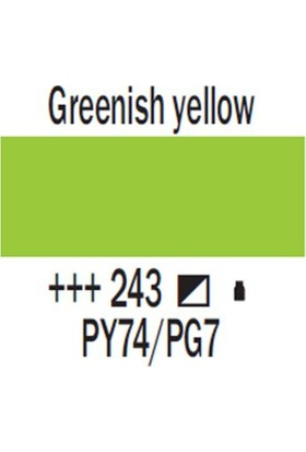 Talens Amsterdam Akrilik Boya 120 Ml 243 Greenish Yellow