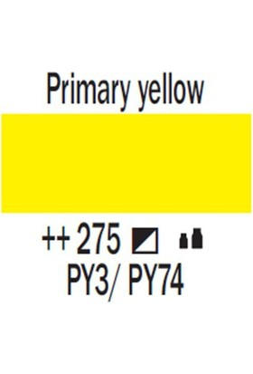 Talens Amsterdam Akrilik Boya 500 Ml 275 Primary Yellow